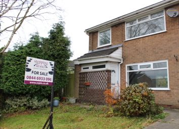 Thumbnail 3 bed end terrace house for sale in Mersey Bank Road, Hadfield, Glossop