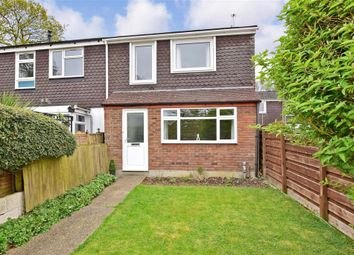 Thumbnail 3 bed end terrace house for sale in Slade Close, Lords Wood, Chatham, Kent