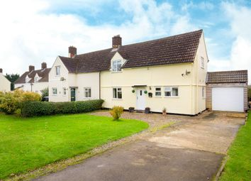 Thumbnail 3 bed semi-detached house for sale in High Street, Chrishall, Royston