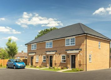 """Thumbnail 3 bedroom end terrace house for sale in """"Barton"""" at Lancaster Avenue, Watton, Thetford"""