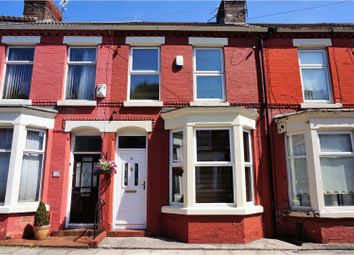 Thumbnail 2 bed terraced house for sale in Tiverton Street, Liverpool