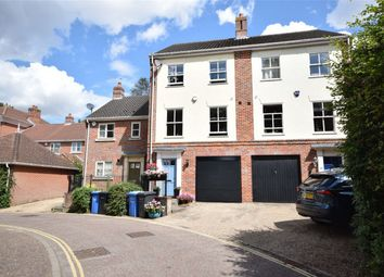 Thumbnail 4 bed town house for sale in Old Library Mews, Norwich, Norfolk