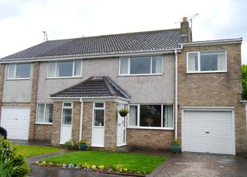 Thumbnail 3 bed semi-detached house for sale in Cranwell Court, Newcastle Upon Tyne