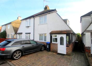 Thumbnail 2 bed semi-detached house for sale in Eighth Avenue, Lancing, West Sussex