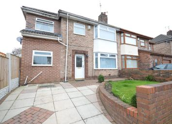 Thumbnail 3 bed semi-detached house for sale in Christopher Way, Childwall, Liverpool