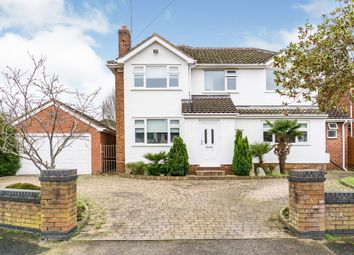 Thumbnail 5 bedroom detached house for sale in Dee Park Road, Heswall, Wirral