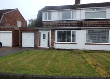 Thumbnail 3 bed semi-detached house for sale in Kingsdale Avenue, Blyth