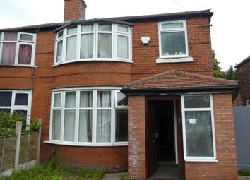 Thumbnail 5 bed semi-detached house to rent in Finchley Road, Fallowfield, Manchester