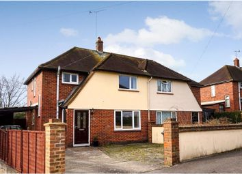 Thumbnail 3 bed semi-detached house for sale in Broadley Green, Windlesham