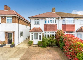 Thumbnail 3 bed semi-detached house for sale in Glenesk Road, London