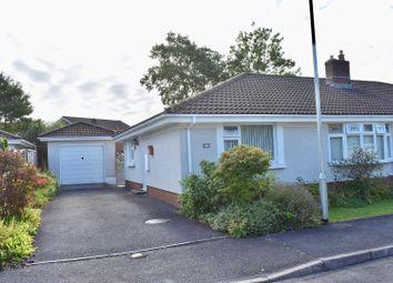 Thumbnail 2 bed semi-detached bungalow for sale in Derwen Fawr, Llandybie, Ammanford