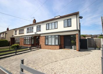 Thumbnail 4 bed semi-detached house for sale in Underhill Road, Benfleet