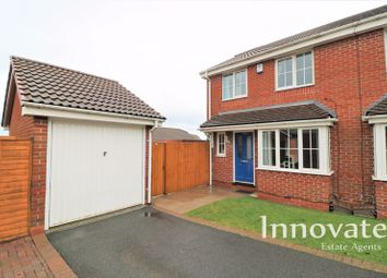 Thumbnail 3 bed semi-detached house for sale in Taylor Way, Tividale, Oldbury