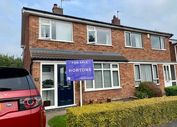 Thumbnail 3 bed semi-detached house for sale in Ennerdale Road, Barrow Upon Soar, Upon 8Pu