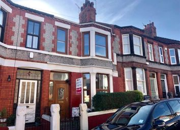 Thumbnail 3 bedroom terraced house for sale in Clive Road, Prenton