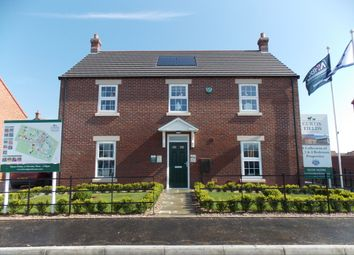 Thumbnail 2 bed detached house for sale in Showhome Curtis Fields, Coningsby, Lincolnshire