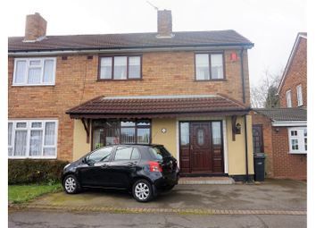 Thumbnail 3 bed semi-detached house for sale in Bramble Green, Dudley