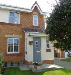 Thumbnail 3 bed semi-detached house for sale in Llys Bran, Prestatyn, Denbighshire