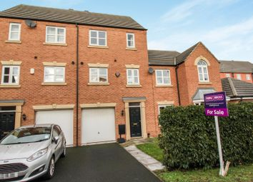 Thumbnail 3 bed town house for sale in Channel Crescent, City Point, Derby