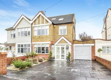 Thumbnail 4 bed semi-detached house for sale in Lancaster Gardens, Kingston Upon Thames, Surrey