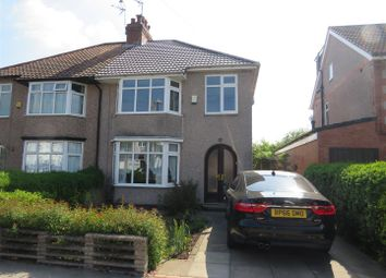 Thumbnail 3 bed semi-detached house to rent in Woodside Avenue South, Coventry