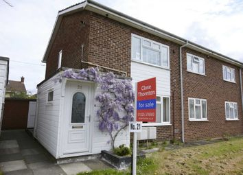 Thumbnail 2 bed maisonette for sale in Gilling Crescent, Darlington