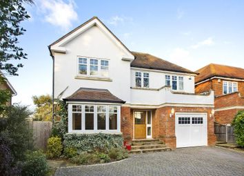 Thumbnail 5 bed detached house to rent in Northcroft Close, Englefield Green, Egham