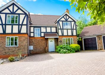 Thumbnail 4 bed detached house for sale in Dungeness Court, Milton Keynes