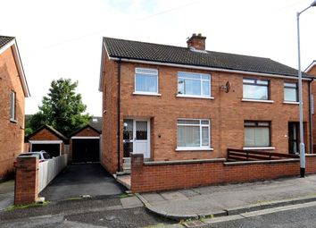 Thumbnail 3 bed semi-detached house for sale in Ardvarna Park, Belmont, Belfast