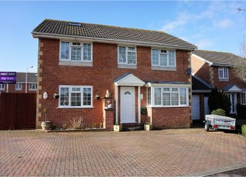 Thumbnail 4 bed detached house for sale in The Saffrons, Weston-Super-Mare