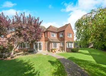 Thumbnail 4 bed detached house for sale in Alfriston Road, Seaford
