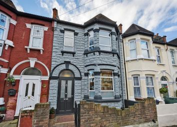 Thumbnail 3 bed terraced house for sale in Wesley Road, Leyton, London