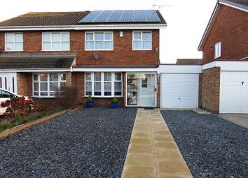 Thumbnail 3 bedroom semi-detached house for sale in Francis Close, Penkridge, Stafford
