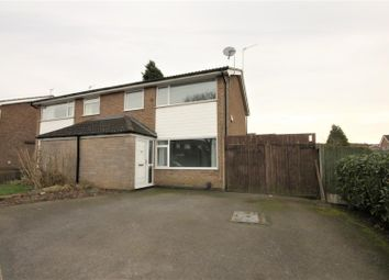 Thumbnail 3 bed semi-detached house for sale in Greenhill Road, Coalville
