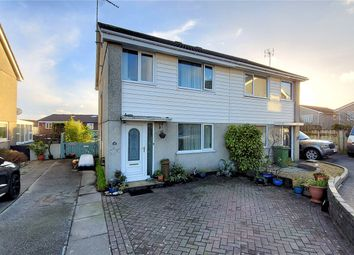 Thumbnail 3 bed semi-detached house for sale in Hallane Road, St Austell, Cornwall