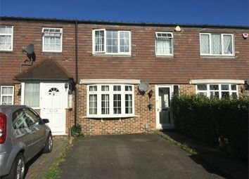 Thumbnail 3 bed terraced house for sale in Somerset Close, Epsom