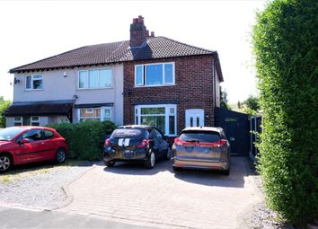 Thumbnail 2 bed semi-detached house for sale in Birdhall Road, Cheadle Hulme, Stockport