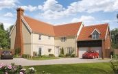 Thumbnail 5 bed link-detached house for sale in Silfield Road, Wymondham