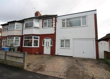 Thumbnail 4 bed semi-detached house for sale in Malvern Avenue, Urmston, Manchester
