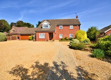 Thumbnail 4 bed detached house for sale in Cley Road, Swaffham