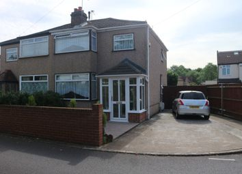 Thumbnail 3 bed semi-detached house for sale in Grange Close, Hayes