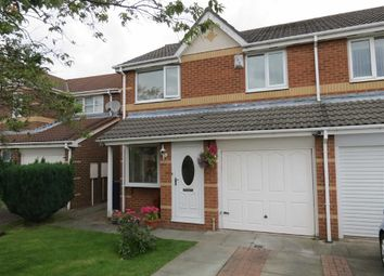 Thumbnail 3 bed semi-detached house for sale in Birkdale Drive, Shiney Row, Houghton Le Spring