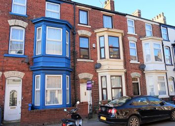 Thumbnail 4 bed terraced house for sale in Trafalgar Road, Scarborough