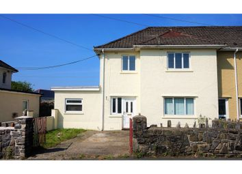Thumbnail 3 bed end terrace house for sale in Tanygarth, Abercrave