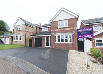 Thumbnail 4 bed detached house for sale in Springwood Grove, Rotherham