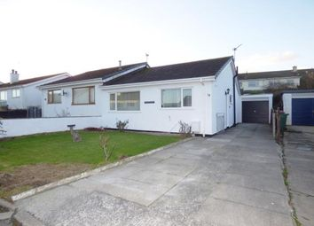 Thumbnail 2 bed bungalow for sale in Ffordd Llewelyn, Valley, Holyhead, Anglesey