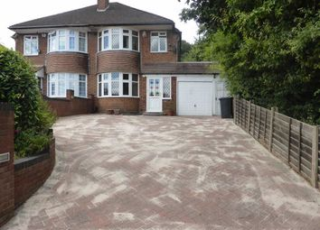 Thumbnail 4 bed semi-detached house to rent in Hobs Moat Road, Solihull