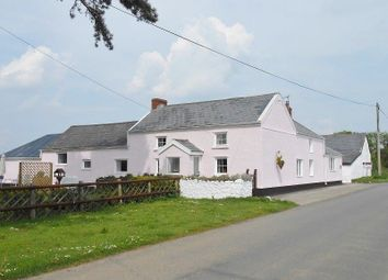 Thumbnail 4 bedroom farmhouse for sale in Cilonen Fawr Farm Cilonen, Three Crosses, Swansea.