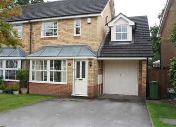 Thumbnail 3 bed semi-detached house to rent in Manton Croft, Dorridge