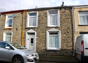 Thumbnail 3 bed terraced house for sale in Nightingale Street, Abercanaid, Merthyr Tydfil